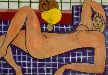 Fauvism Works - Large Reclining Nude The Pink Nude Fauvism