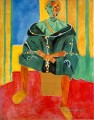 Le Rifain assis Seated Riffian Late Fauvism