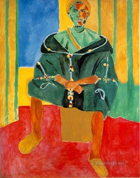 Fauvism Works - Le Rifain assis Seated Riffian Late Fauvism