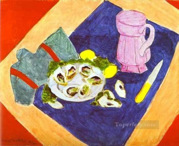Still Life with Oysters Fauvism Oil Paintings