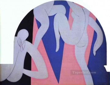 The Dance 19323 Fauvism Oil Paintings