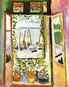 The Window Fauvist Oil Paintings