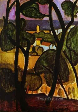 View of Collioure 1908 Fauvist Oil Paintings