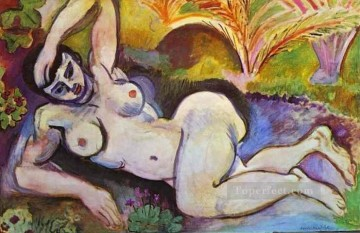 Blue Nude Souvenir de Biskra 1907 Fauvist Oil Paintings