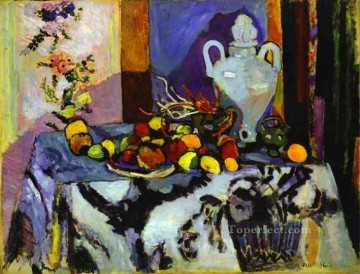 Blue Still Life 1907 Fauvist Oil Paintings