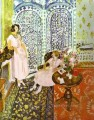 Moorish Screen Fauvist