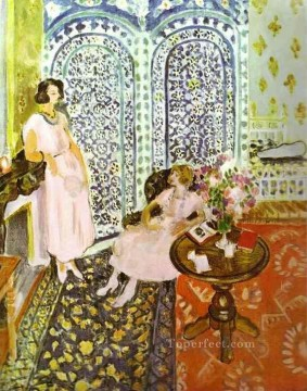 Moorish Screen Fauvist Oil Paintings