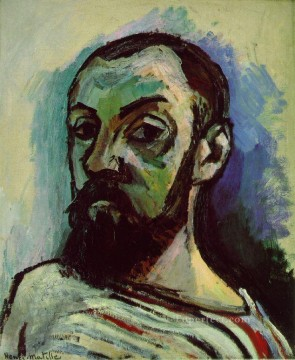 Self Portrait 1906 Fauvist Oil Paintings