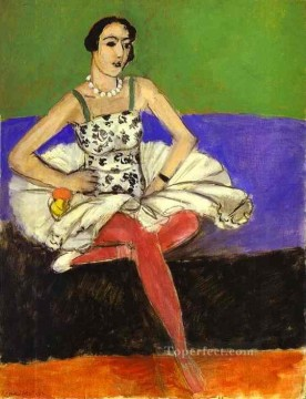 The Ballet Dancer La danseuse c 1927 Fauvist Oil Paintings