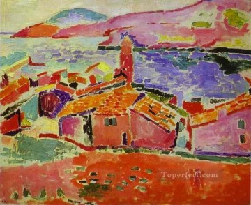View of Collioure 1906 Fauvist Oil Paintings