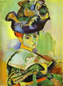 Woman with a Hat 1905 Fauvist Oil Paintings