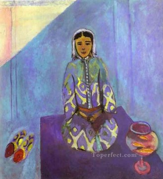 Zorah on the Terrace 1912 Fauvist Oil Paintings