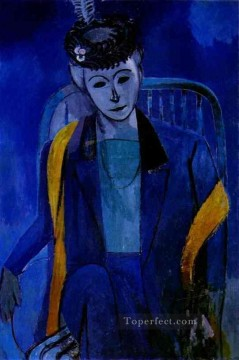 Portrait of the Artist s Wife 191213 Fauvist Oil Paintings