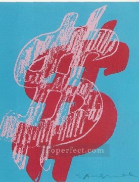 Dollar Sign POP Oil Paintings