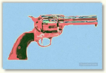Gun 4 POP Oil Paintings