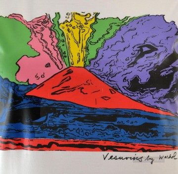 Vesuvius 3 POP Oil Paintings