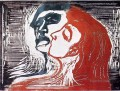 man and woman i 1905 Edvard Munch POP Art