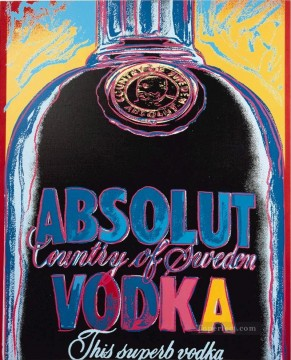Absolut Vodka POP Oil Paintings
