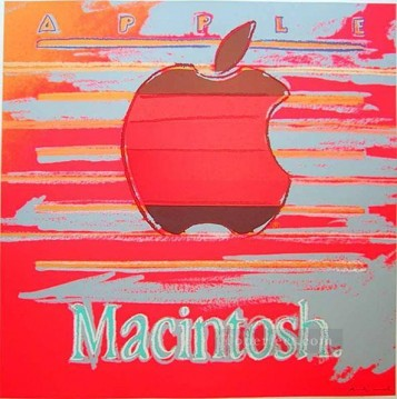 Apple 2 POP Oil Paintings