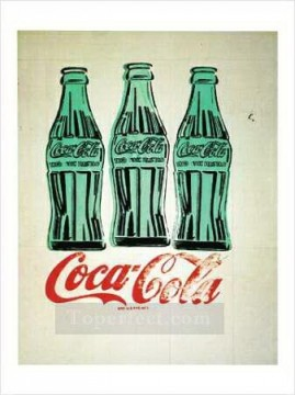 Coke Bottles POP Oil Paintings