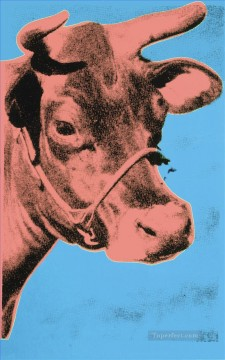 cattle bull cow Painting - Cow 6 POP
