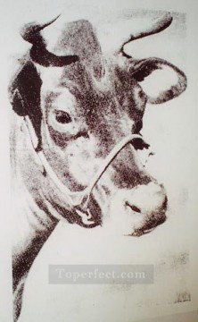 Cow grey POP Oil Paintings