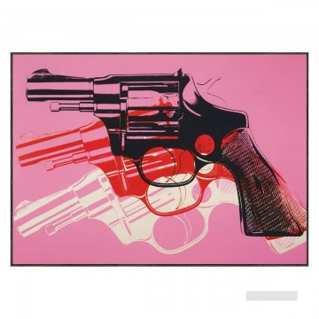 Gun 2 POP Oil Paintings