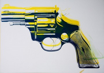 Gun 6 POP Oil Paintings