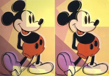 Mickey POP Oil Paintings