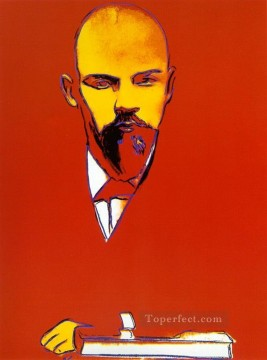 Pop Painting - Red Lenin POP