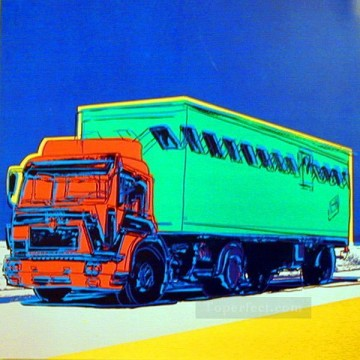 Truck Announcement 3 POP Oil Paintings