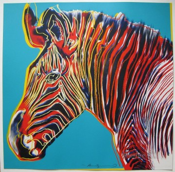 Zebra POP Oil Paintings