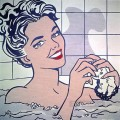 woman in bath 1963 POP