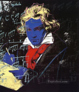 Beethoven POP Oil Paintings