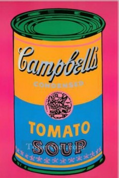 Artists Oil Painting - Campbell Soup Can Tomato POP Artists