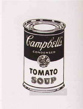 Campbell s Soup Can Tomato Retrospective Series POP Artists Oil Paintings