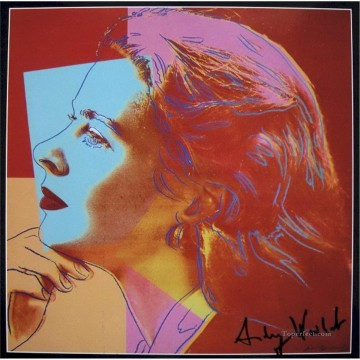 Pop Painting - Ingrid Bergman as Herself 2 POP Artists