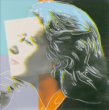 Ingrid Bergman as Herself 3 POP Artists Oil Paintings