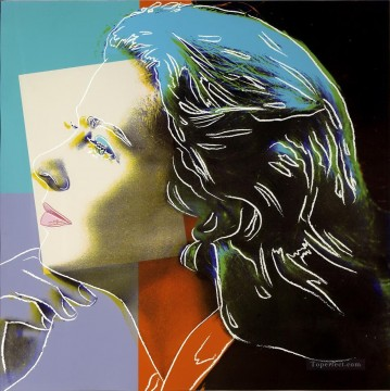 Famous Abstract Painting - Ingrid Bergman as Herself POP Artists