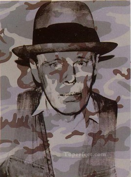 Artists Oil Painting - Joseph Beuys in Memoriam POP Artists