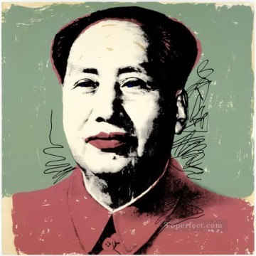 Mao Zedong 2 POP Artists Oil Paintings