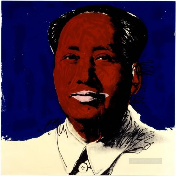 Mao Zedong 4 POP Artists Oil Paintings