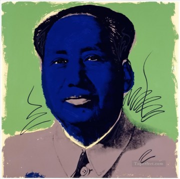 Mao Zedong 6 POP Artists Oil Paintings