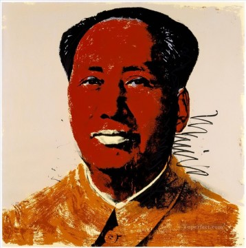 Mao Zedong 7 POP Artists Oil Paintings