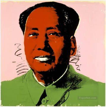 Mao Zedong 8 POP Artists Oil Paintings