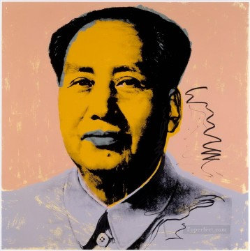 Mao Zedong 9 POP Artists Oil Paintings