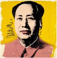 Mao Zedong yellow POP Artists