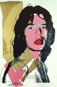 Mick Jagger 3 POP Artists Oil Paintings
