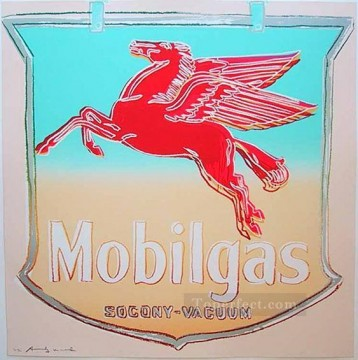 Mobil POP Artists Oil Paintings
