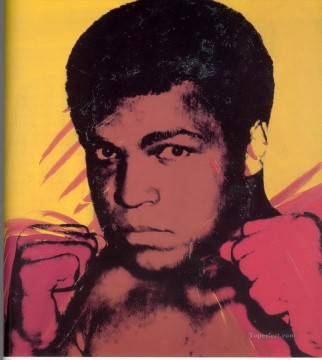 Artists Oil Painting - Muhammad Ali POP Artists